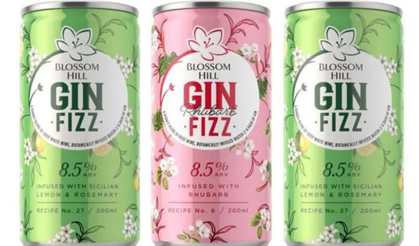 blossom hill gin fizz cans