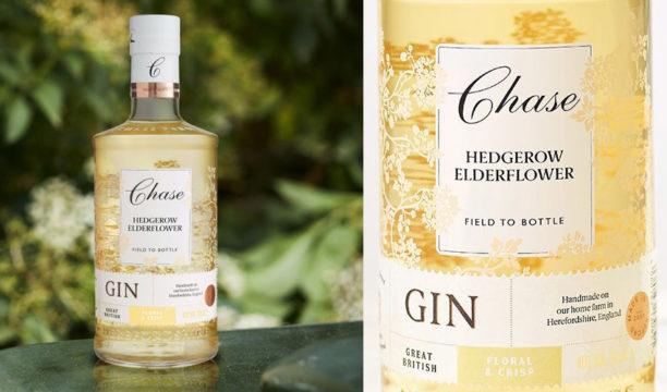 chase hedgerow elderflower gin