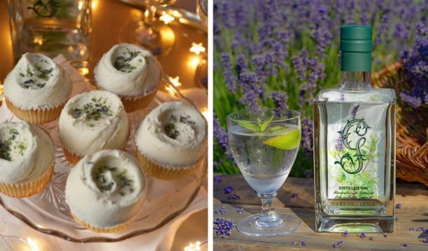 These Boozy Botanical Gin Cupcakes Are Blooming Lovely