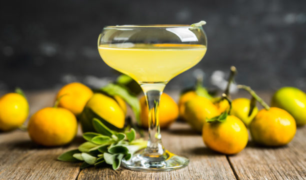 gin and limoncello cocktail