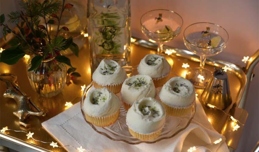 gin cupcakes