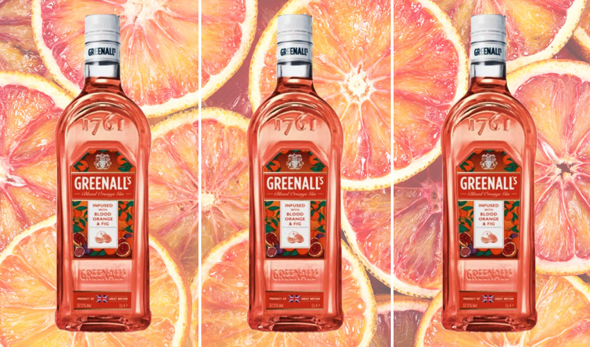 Greenalls zero sugar blood orange & fig gin