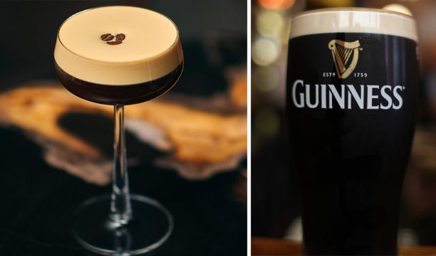 A Gin, Guinness and Espresso Martini Will Have Gin and Coffee Lovers Head over Heels