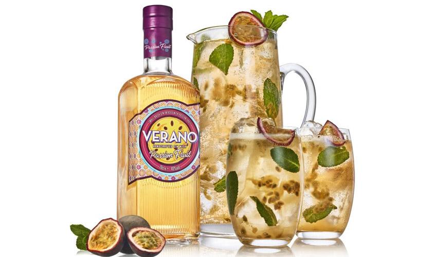 verano passion fruit gin