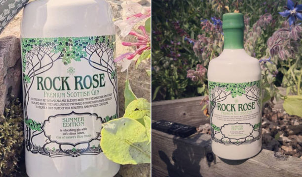 Rock Rose Summer Edition Gives the Exotic Taste of Citrus Using Scottish Ingredients
