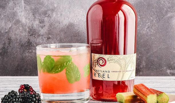 shetland reel rhubarb & bramble liqueur