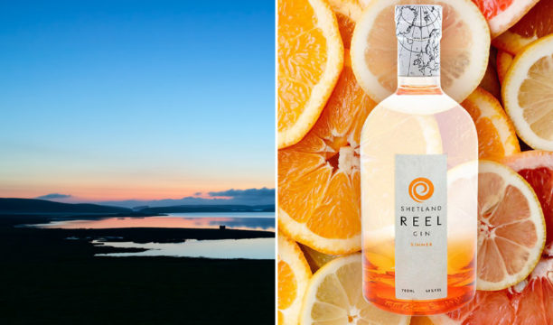 Featured Image for Simmer Gin Is Inspired by the Gorgeous Glowing Shetland Summer Twilight