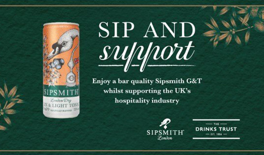 sip and support campaign