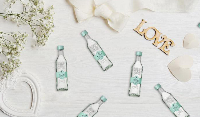 bloom gin wedding favours