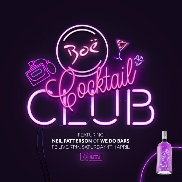 boe gin cocktail club