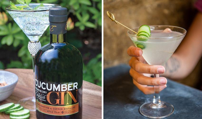 cucumber gin martini