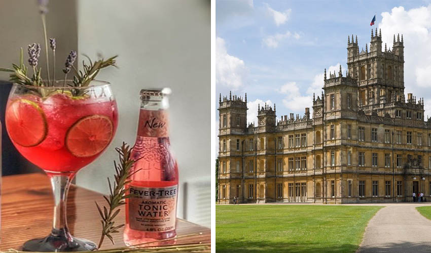 Featured Image for The Real Life Location Behind Downton Abbey Is Hosting a Virtual Cocktails Event