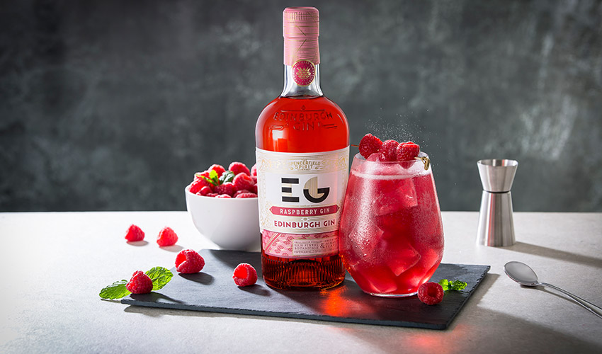 Featured Image for Review: Edinburgh Gin Raspberry Gin