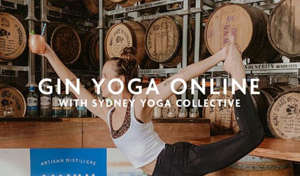 online gin yoga sydney