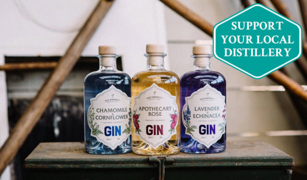 Meet the Colour-Changing Gin That Hails from a Secret Edinburgh Gin Garden