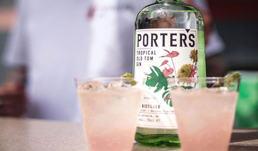 Featured Image for Tropical Pink Grapefruit and Elderflower Old Tom Gin Cocktails Taste Like a Holiday in a Glass