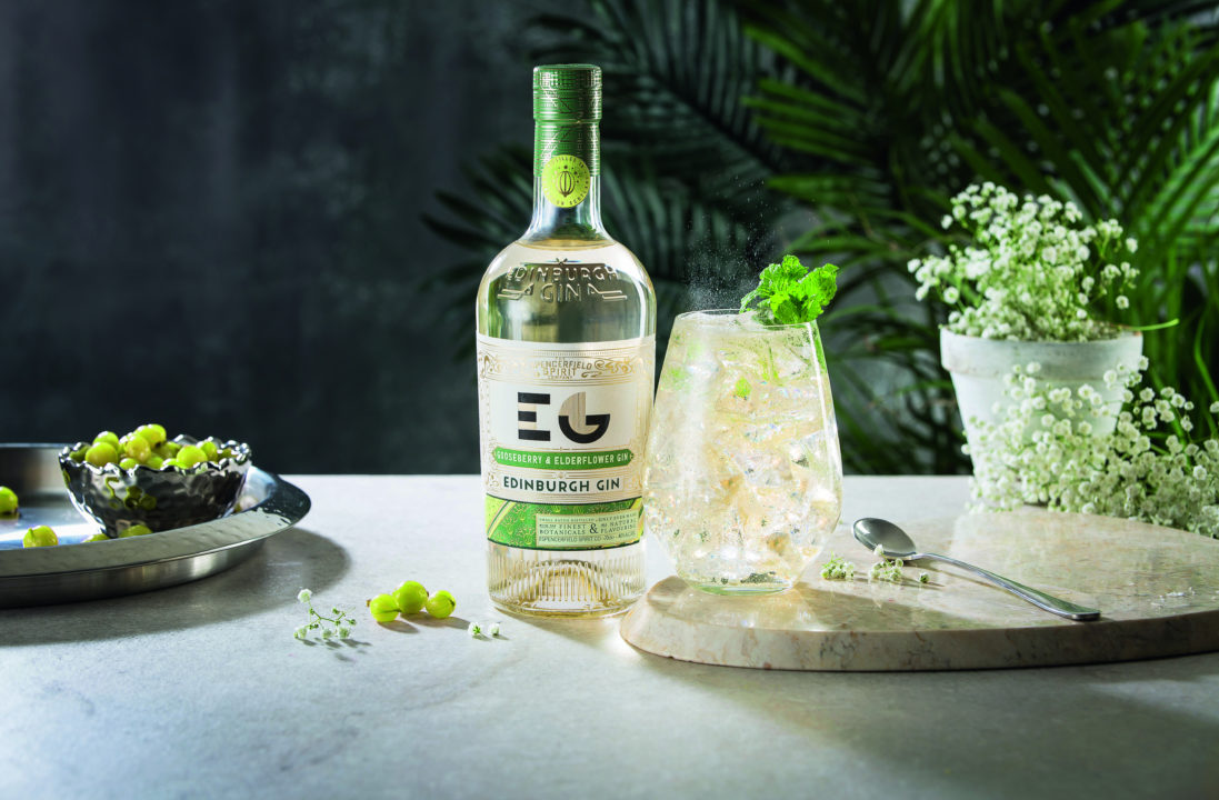 EDINBURGH GIN GOOSEBERRY & ELDERFLOWER