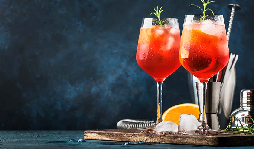 Featured Image for An Aperol Gin Spritz Could Be This Summer's Hottest Gin Trend