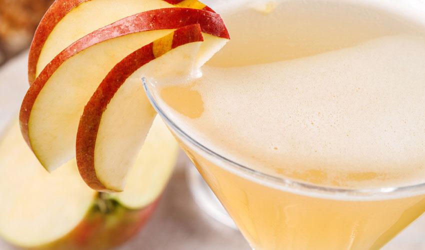 apple gin spritz