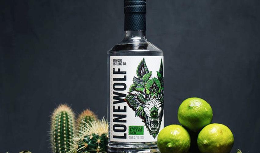 brewdog cactus & lime gin