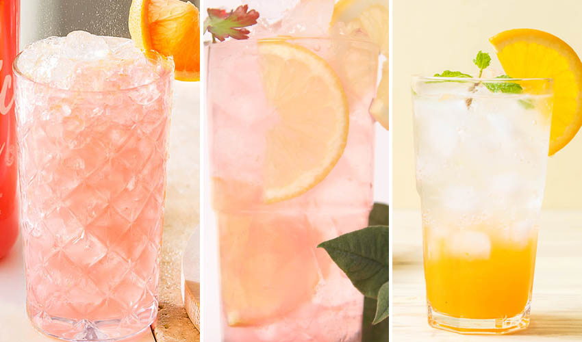 citrus gin cocktails