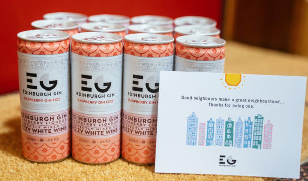 Edinburgh Gin Are Thanking Supportive Local Communities with Free Doorstep Packs of Gin