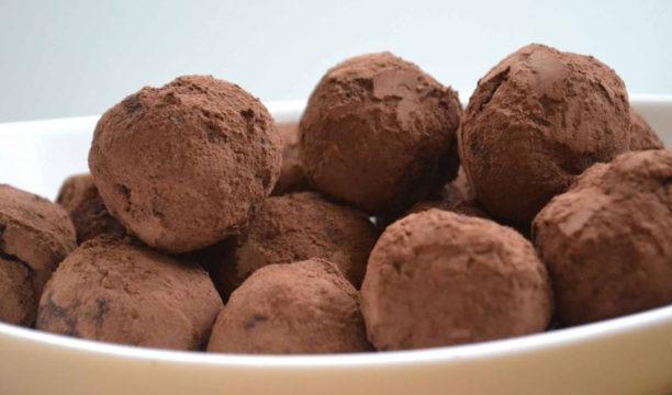 gin and chocolate orange truffles