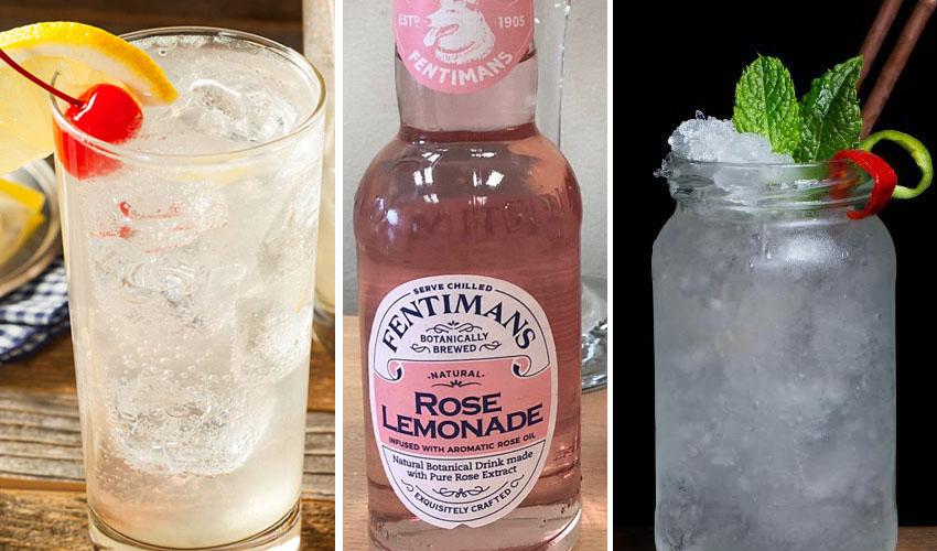 gin and lemonade cocktail