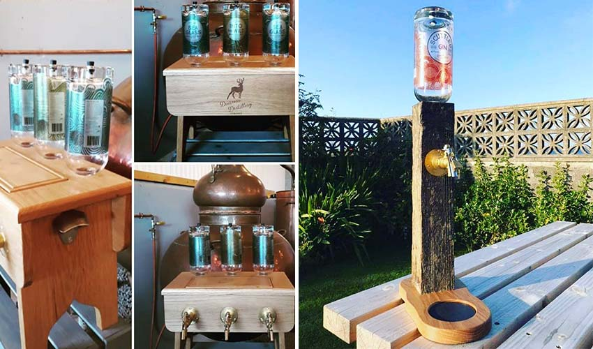 Featured Image for A Distillery Has Teamed Up with a Local Workshop to Create Two Innovative Gin on Taps
