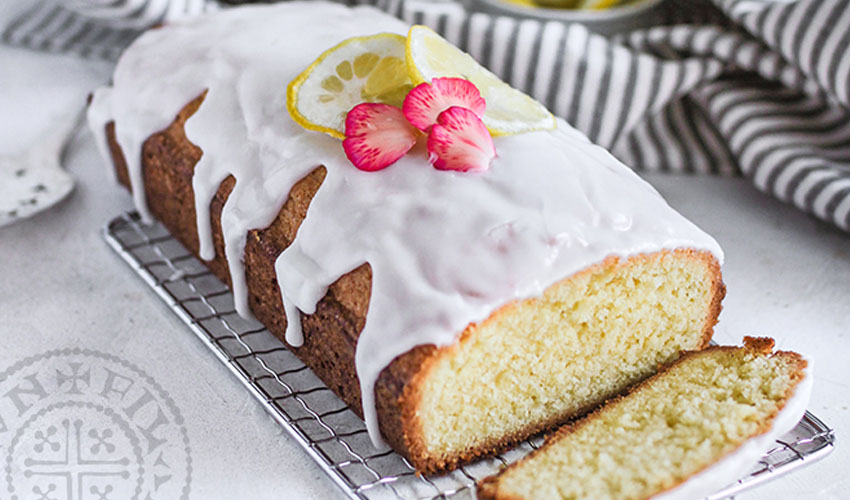 gin and tonic lemon cake