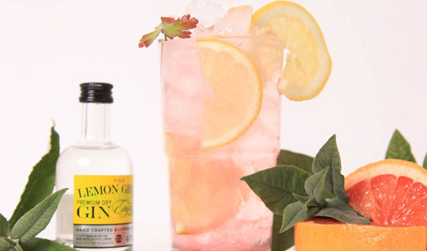 Featured Image for Light and Lovely Lemon and Pink Grapefruit Collins Is the Perfect Zingy Refreshment