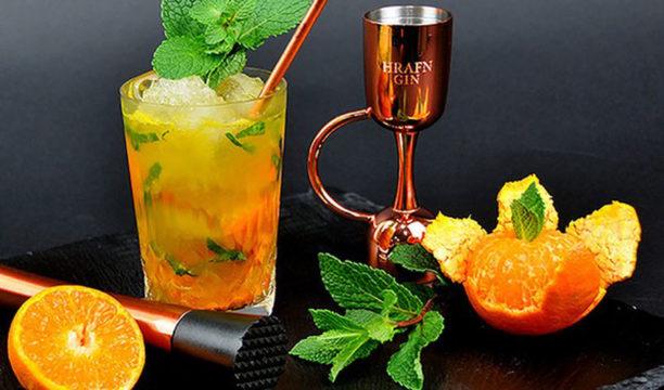 mandarin gin mojito
