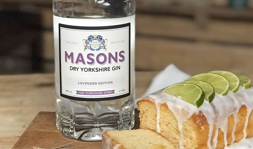 Featured Image for Masons Lime and Lavender Gin Drizzle Cake Is Both Floral and Zesty