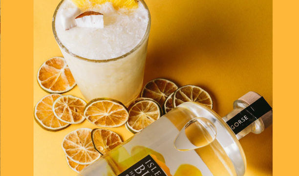 A Sparkling Pineapple and Coconut Sorbet Gin and Wine Cocktail Is a Tropical Delight in a Glass