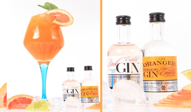 Pink and Orange Gin Combine in This Scorching Sunny Serve