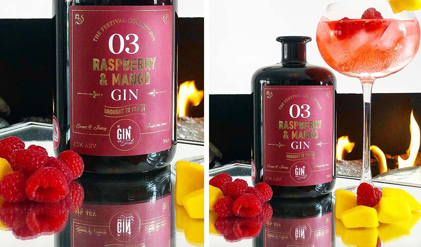 Featured Image for Sweet and Juicy Raspberry and Mango Gin Is Terrifically Tropical in a Glass