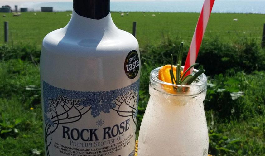rock rose gin slush