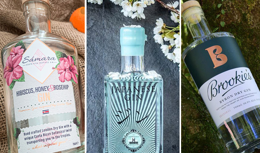 Featured Image for 5 Globally-Inspired Gins You Should Try This World Gin Day