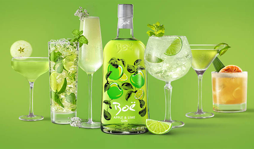 Featured Image for Boë Have Launched an Apple and Lime Gin