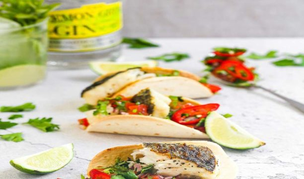 Featured Image for Lemon Gin Salsa Tacos Are All You Need for a Mexican Feast