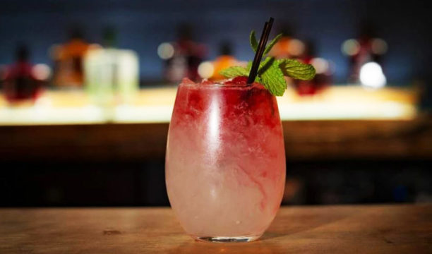 A Raspberry Gin Bramble Is Perfect for Summer Sipping