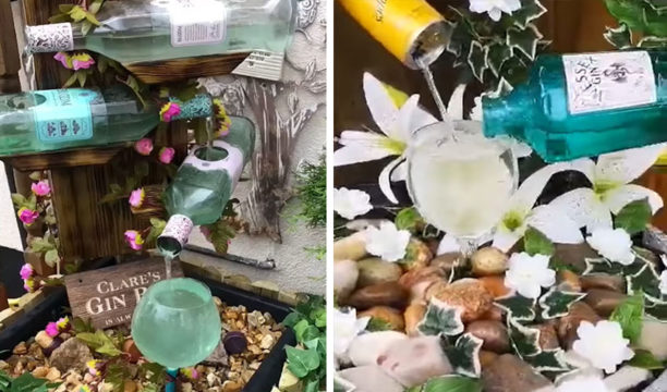 Featured Image for People Have Been Making Homemade Gin Fountains in Their Gardens