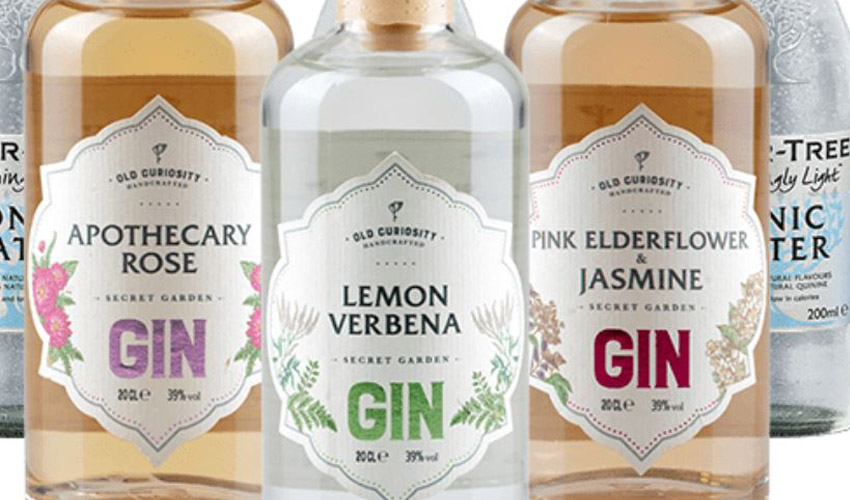 old curiosity distillery virtual gin tasting