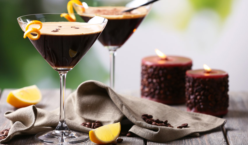 orange espresso martini