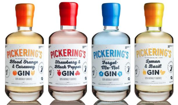 Pickering's Launch Three New Summer-Inspired Flavoured Gins