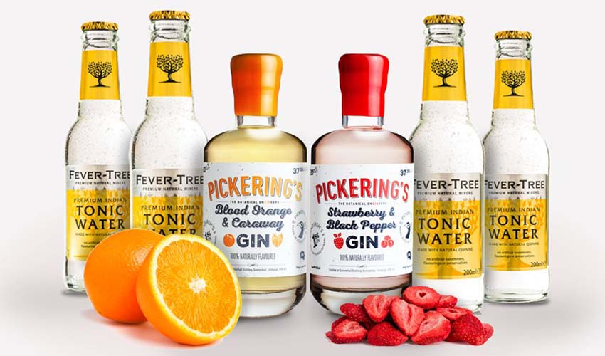 pickerings flavoured gins