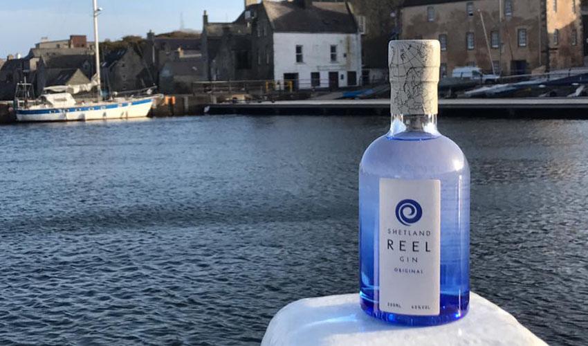 shetland reel original gin review