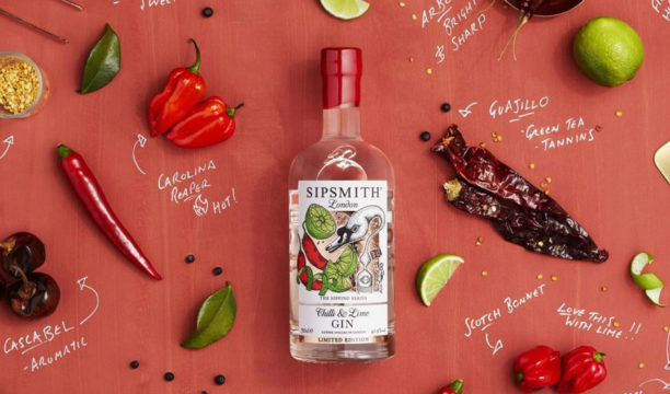 Sipsmith Chilli & Lime Gin Is Infused with the Heat of Seven Varieties of Chilli