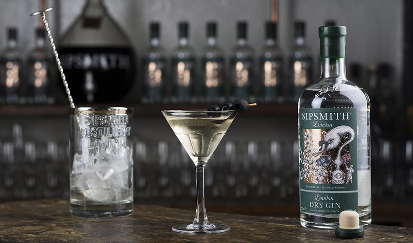 sipsmith martini throwing marathon