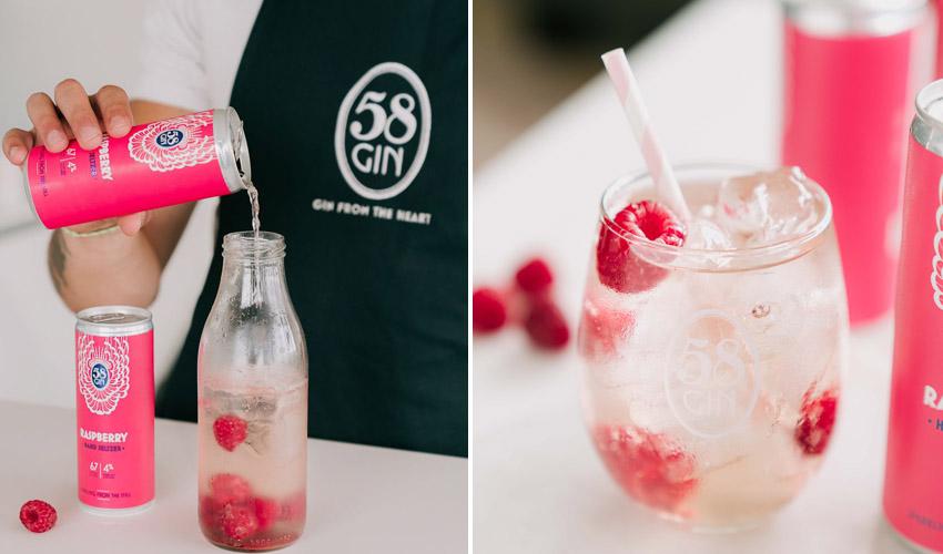 58 gin hard seltzers